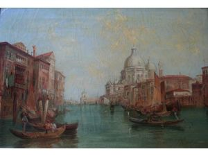 Alfred Pollentine - Le Grand Canal venise