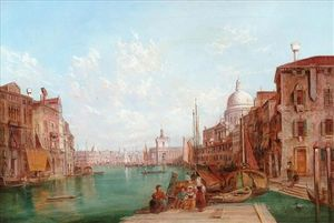 Alfred Pollentine - Canal de Venise