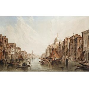 Alfred Pollentine - Venise