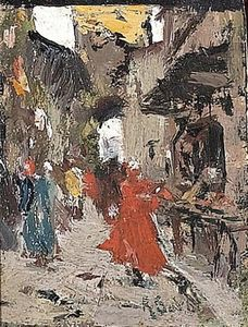 Raffaelo Sorbi - Walking In The City