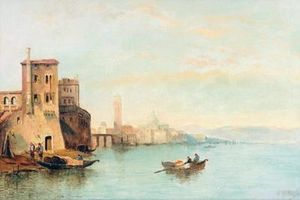William Meadows - Dans la lagune de Venise