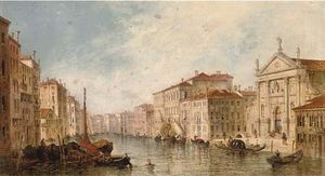 William Meadows - Sur le Grand Canal venise