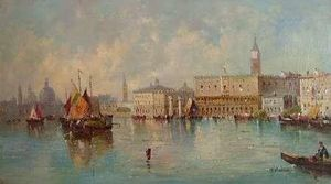 William Meadows - Santa Maria della Salute du Grand Canal