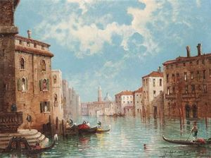 William Meadows - Le Grand Canal