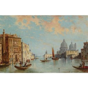 William Meadows - vue de Grandiose Canal , Venise