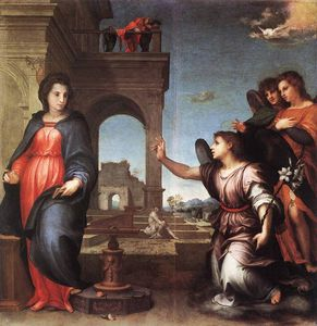 Andrea Del Sarto - lannonciation