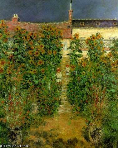 Le jardin artistes v theuil de claude monet 1840 1926 for Artistes de jardin
