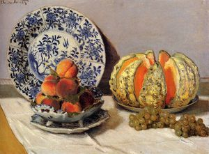 Claude Monet - Nature morte avec melon