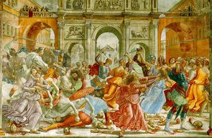 Domenico Ghirlandaio - massacre des innocents