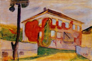 Edvard Munch - liane rouge