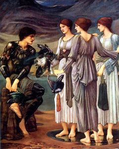 Edward Coley Burne-Jones - L armement de Persée