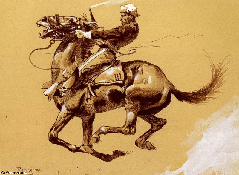 laid de Frederic Remington (1861-1909, United States)