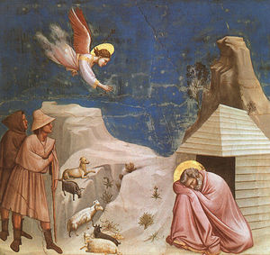 Giotto Di Bondone - Dream Joachim