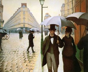 Gustave Caillebotte - Paris place de l Europe