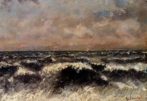 Gustave Courbet - marins