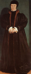 Hans Holbein The Younger - Christina du Danemark