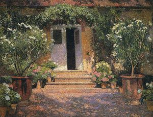 Henri Jean Guillaume Martin - port entree une Marquayrol