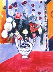 Henri Matisse - le bouquet ( two-handled solidor ) -