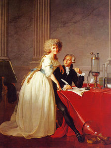 Jacques Louis David - Portrait de monsieur lavoisier et sa femme