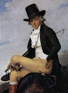 Jacques Louis David - Portrait de Pierre Seriziat