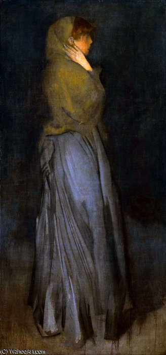 construction effie doyens  ensoleillé  de James Abbott Mcneill Whistler (1834-1903, United States)