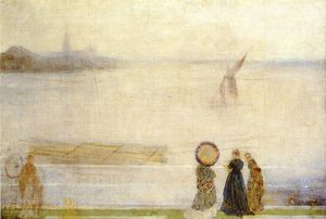James Abbott Mcneill Whistler - battersea portée de lindsey Maisons