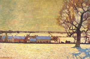 James Edward Hervey Macdonald - soleil d hiver