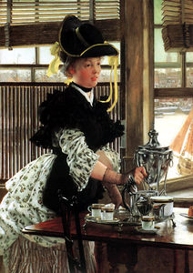 James Jacques Joseph Tissot - thé temps