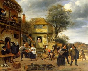 Jan Havicksz Steen - Paysans