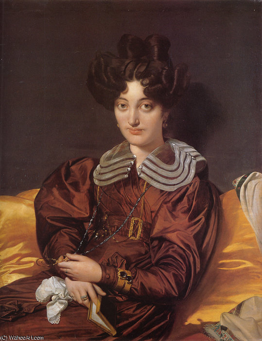 madame marie marcotte de Jean Auguste Dominique Ingres (1780-1867, France)