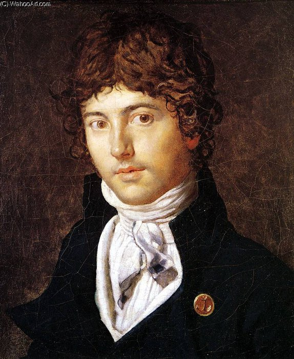 pierre francois bernier de Jean Auguste Dominique Ingres (1780-1867, France)