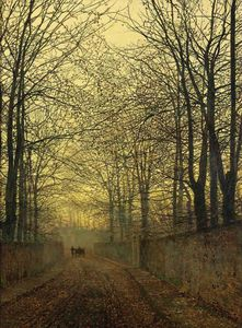 John Atkinson Grimshaw - octobre or