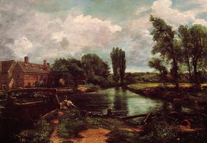 John Constable - un moulin à eau