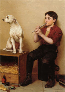 John George Brown - Musique Hath No Charms