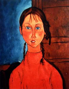 Amedeo Modigliani - Untitled (9455)