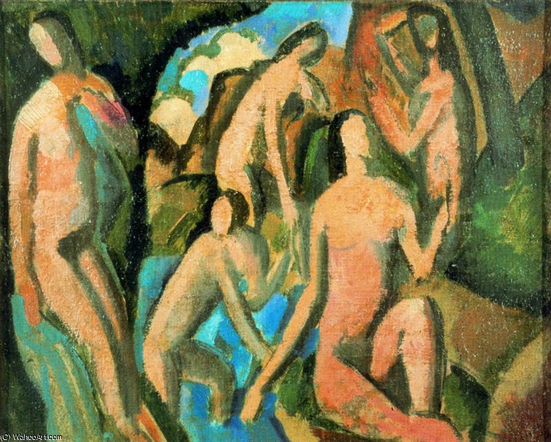 Untitled (7389) de André Derain (1880-1954, France) | Copie Tableau | WahooArt.com