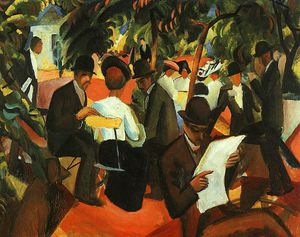 August Macke - Untitled (8098)