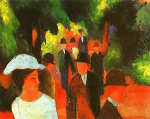 August Macke - Untitled (3863)