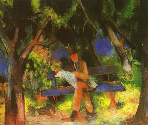 August Macke - Untitled (4540)