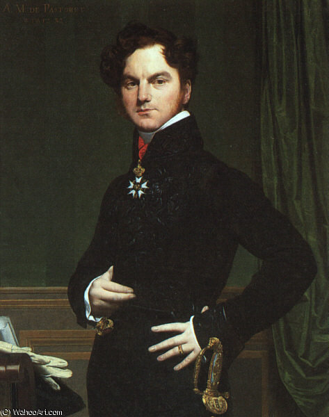 sanstitre 1733   de Jean Auguste Dominique Ingres (1780-1867, France)