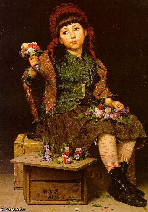 sanstitre 3054   de John George Brown (1831-1913, United Kingdom)