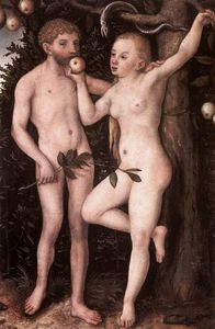 Lucas Cranach The Elder - adam et eve