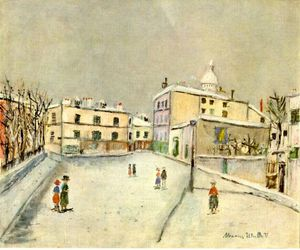 Maurice Utrillo - neiges