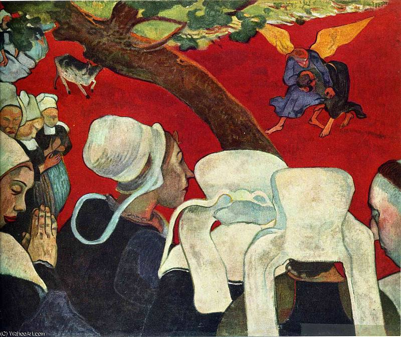Achat Reproductions D'art | sanstitre 2171   de Paul Gauguin (1848-1903, France) | WahooArt.com