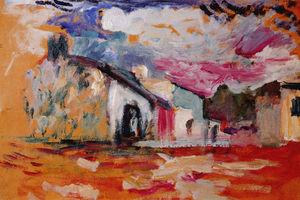 Int rieur une l 39 harmonium huile sur carton agr able for Matisse fenetre a tahiti