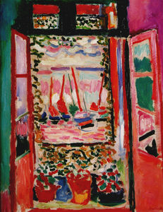 Henri matisse for Matisse fenetre a tahiti