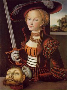 Lucas Cranach The Elder - Judith victorieuse - -