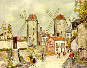 Maurice Utrillo - moulins