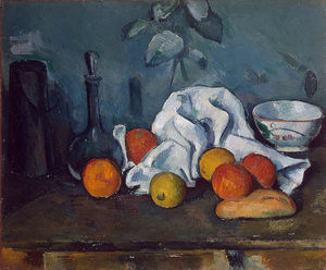 Paul Cezanne - fruits -   -