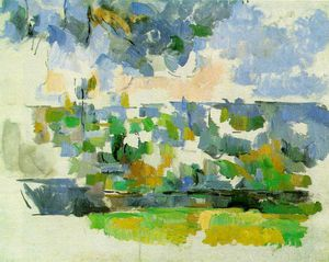 Paul Cezanne - lauves de jardin